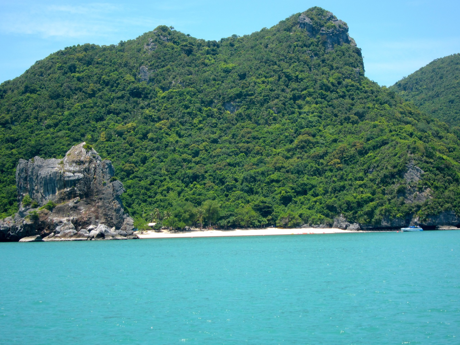 ... Tong Marine Park Koh Paluay The Beach travel blog yacht in thailand