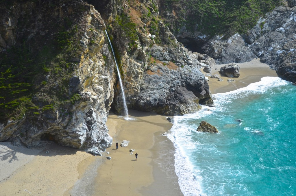 Big Sur Waterfall