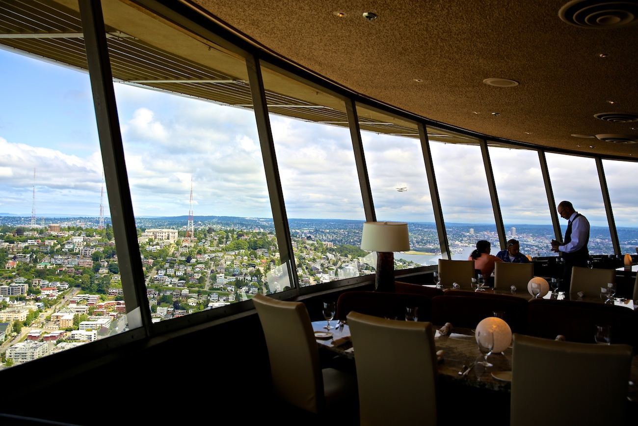 Space Needle RestaurantThe Seattle Space Needle   Wildluxe. Dinner Seattle Space Needle. Home Design Ideas