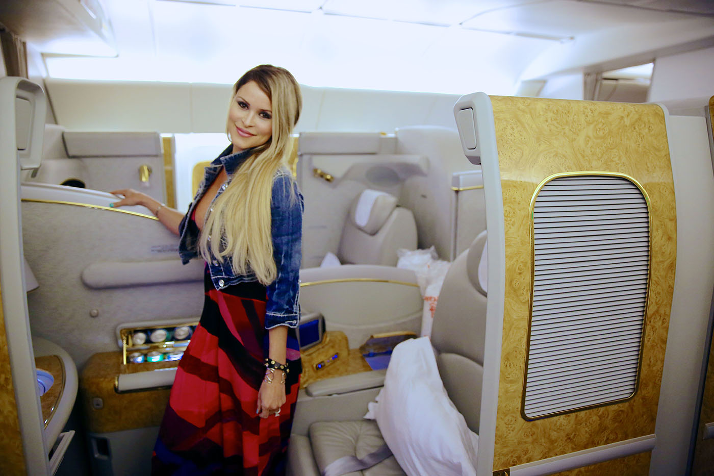 image Emirates airline hostess arab scandal