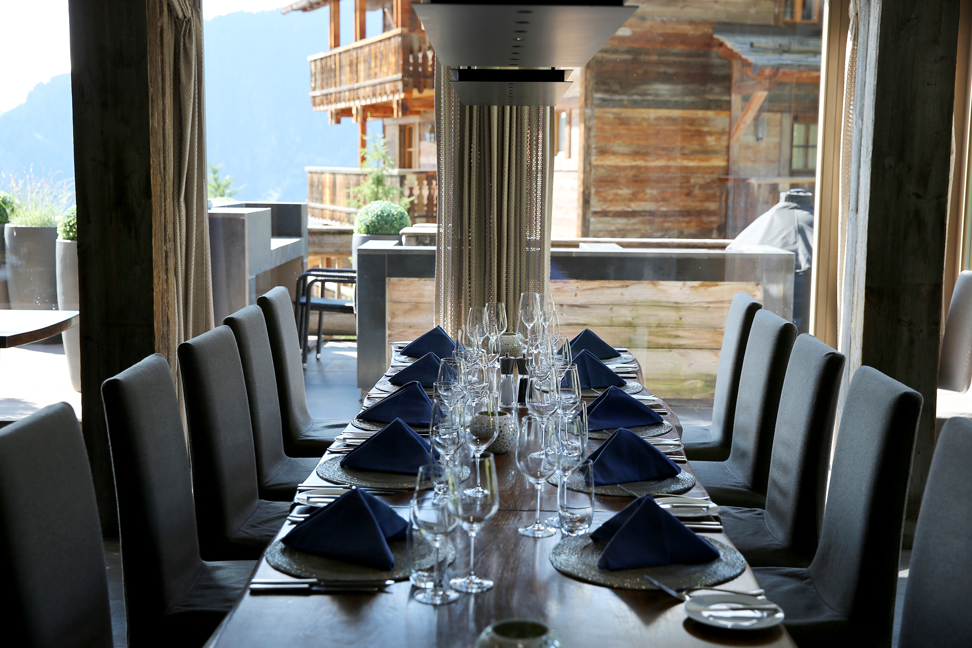 The Lodge Verbier dining