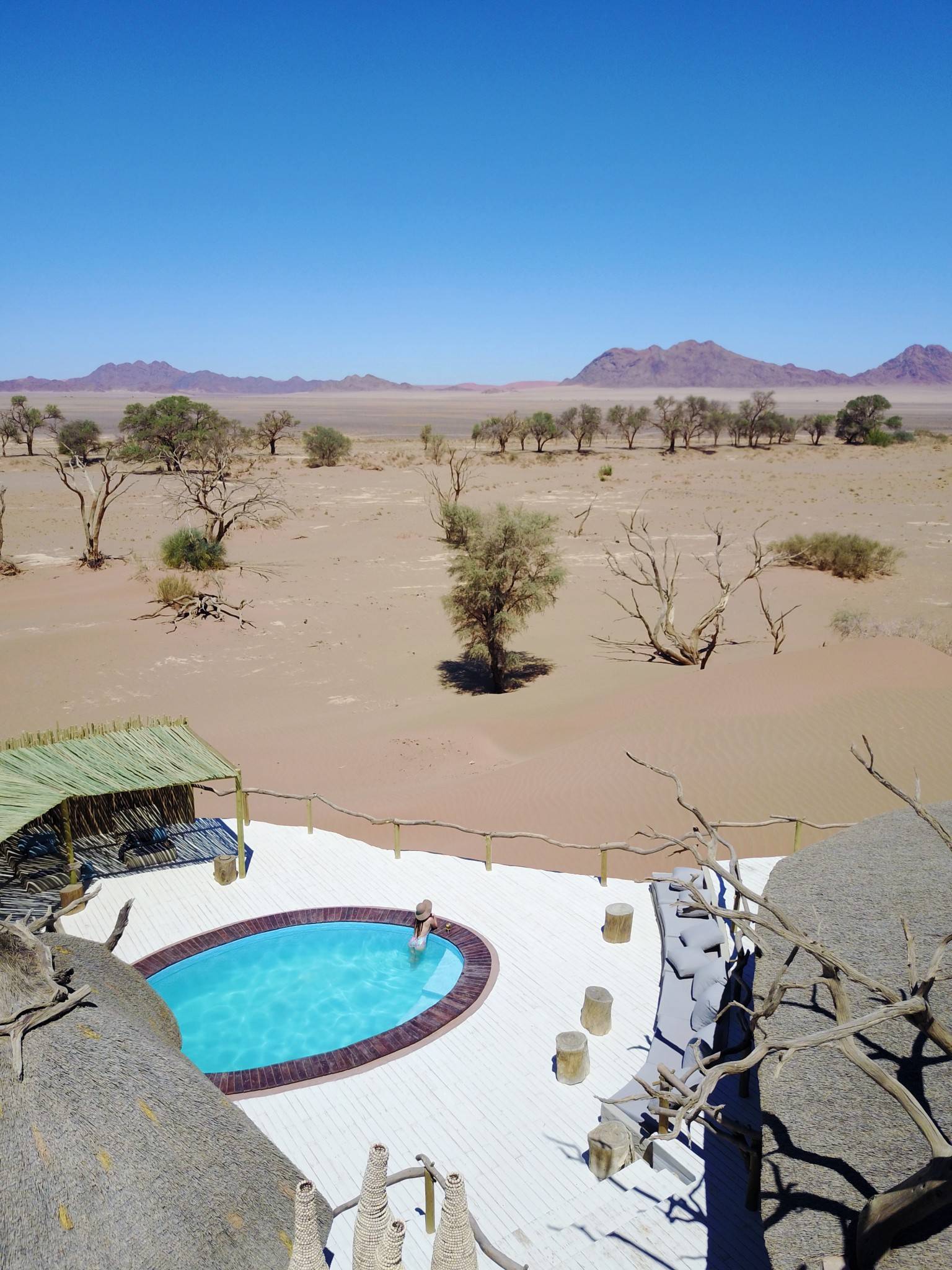 Little Kulala Desert Lodge Pool