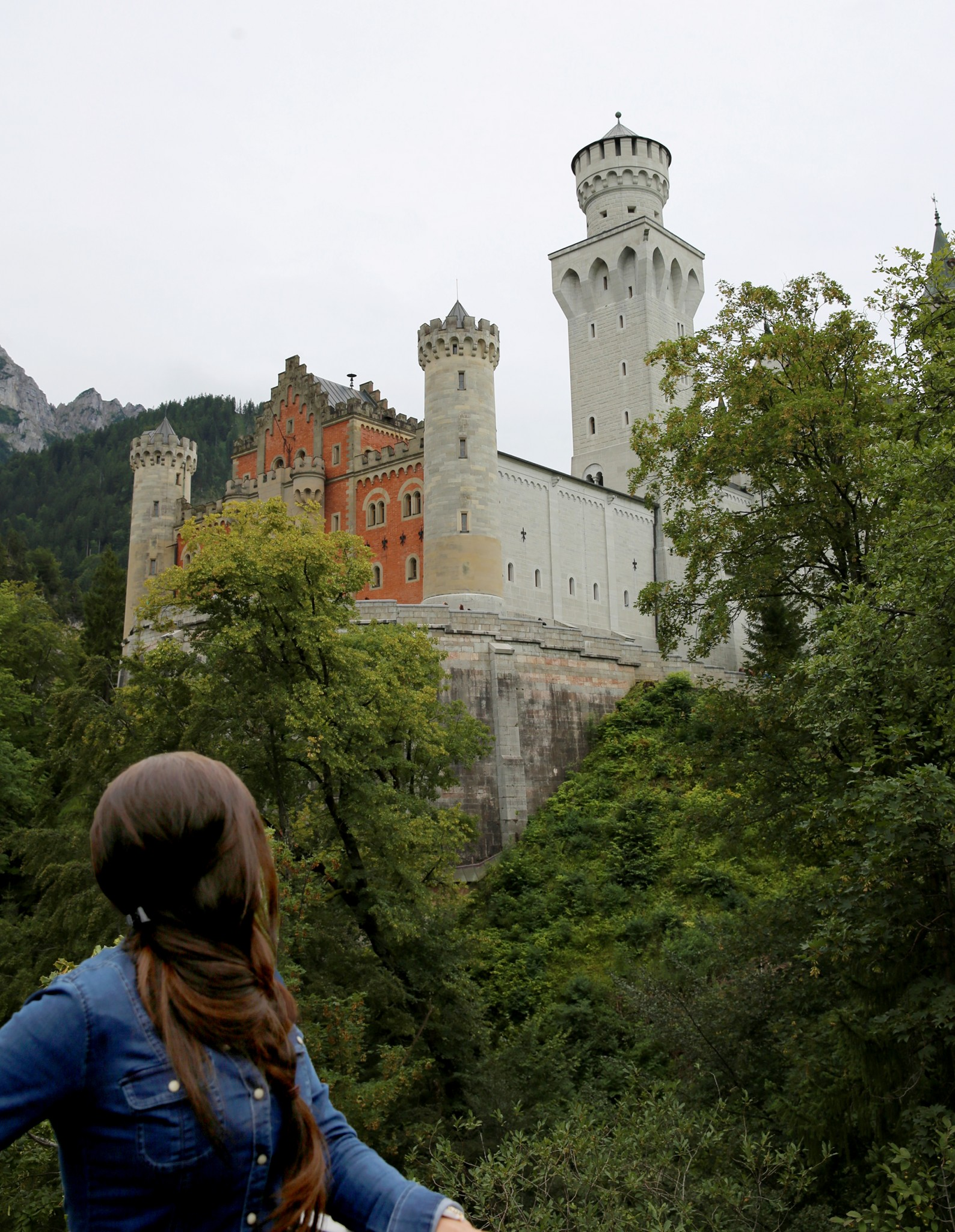 Castle in Bavaria Germany