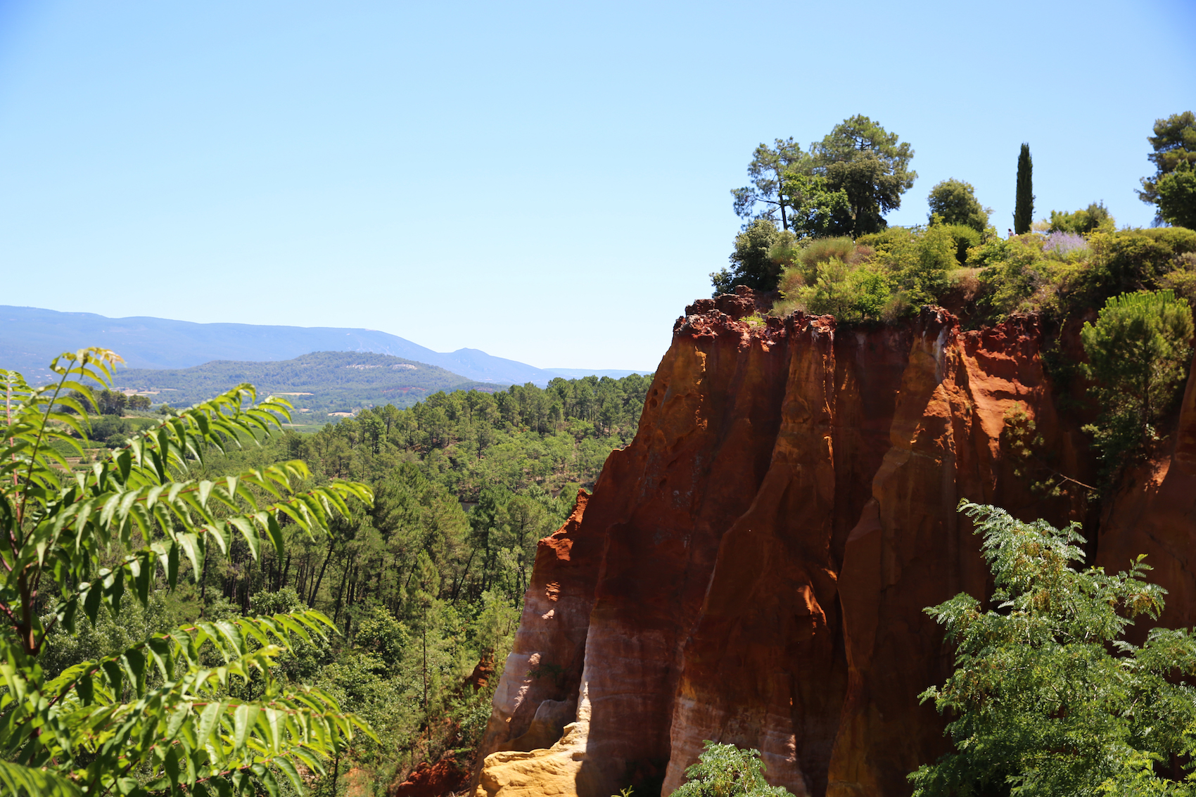 Roussillon Hiking