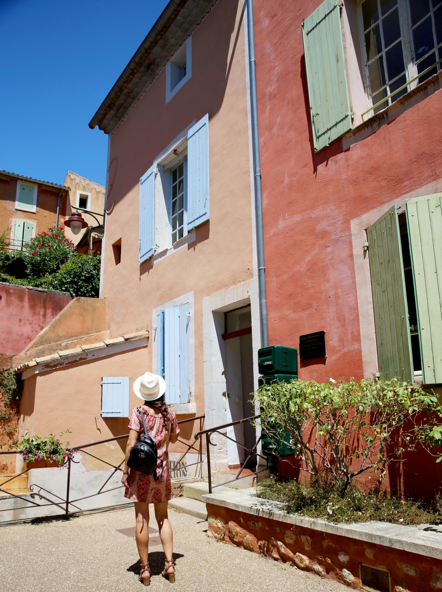 Roussillon France Colors