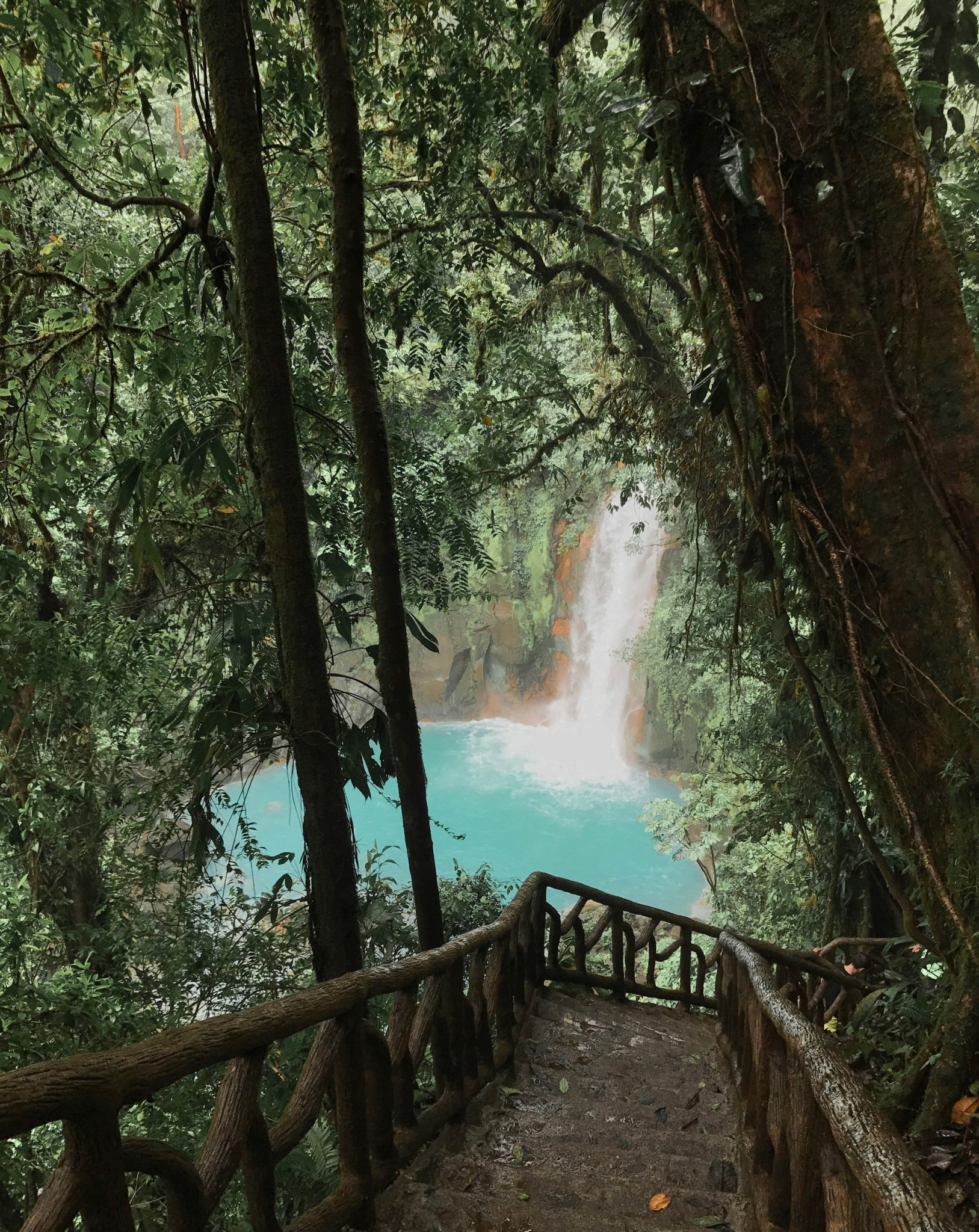 top activity in guanacaste, rio celeste waterfall