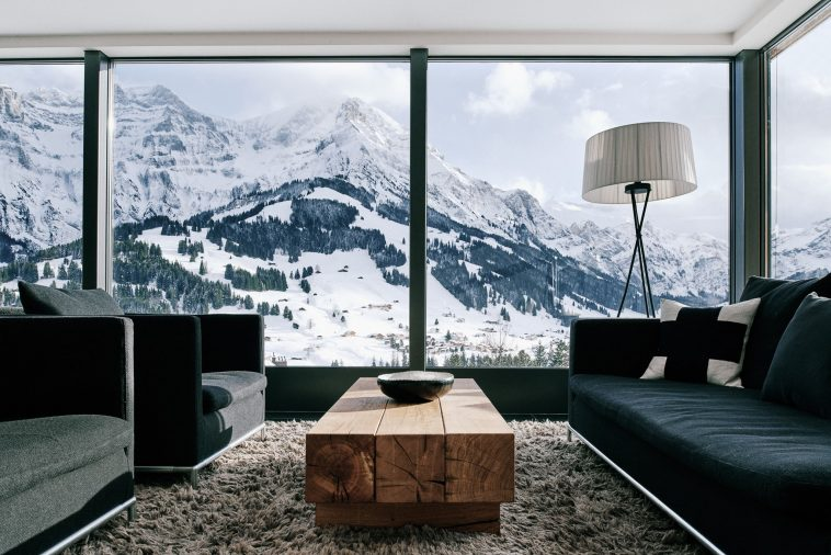 luxury suite in switzerland