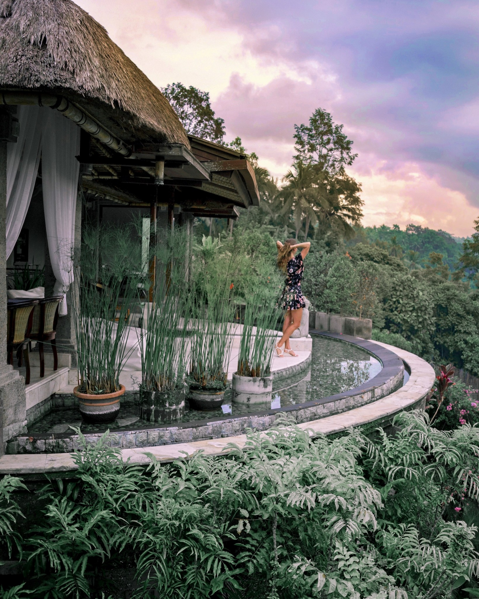 luxury resort in Ubud