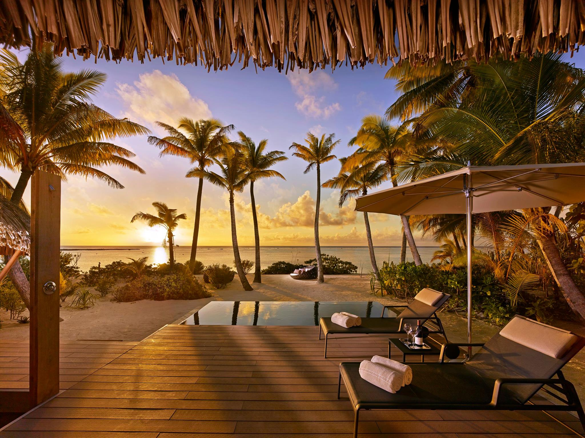 Private island resorts, the brando