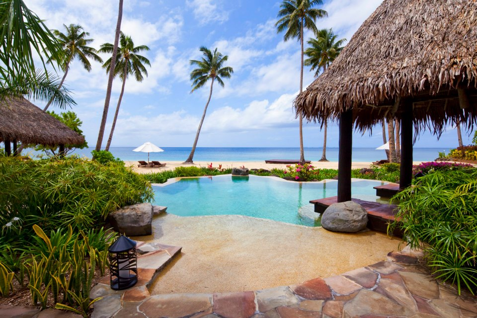 Private island resort, Laucala Island