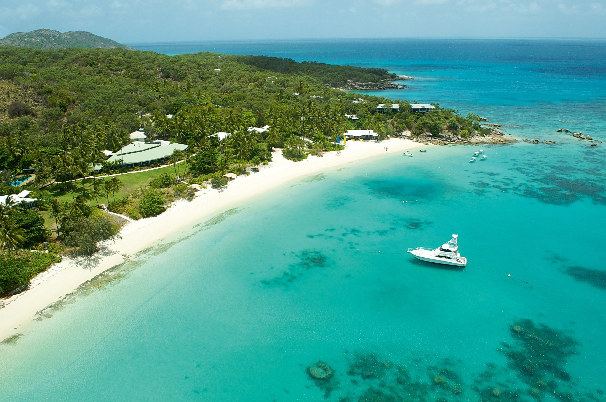 Private island resorts, Lizard island