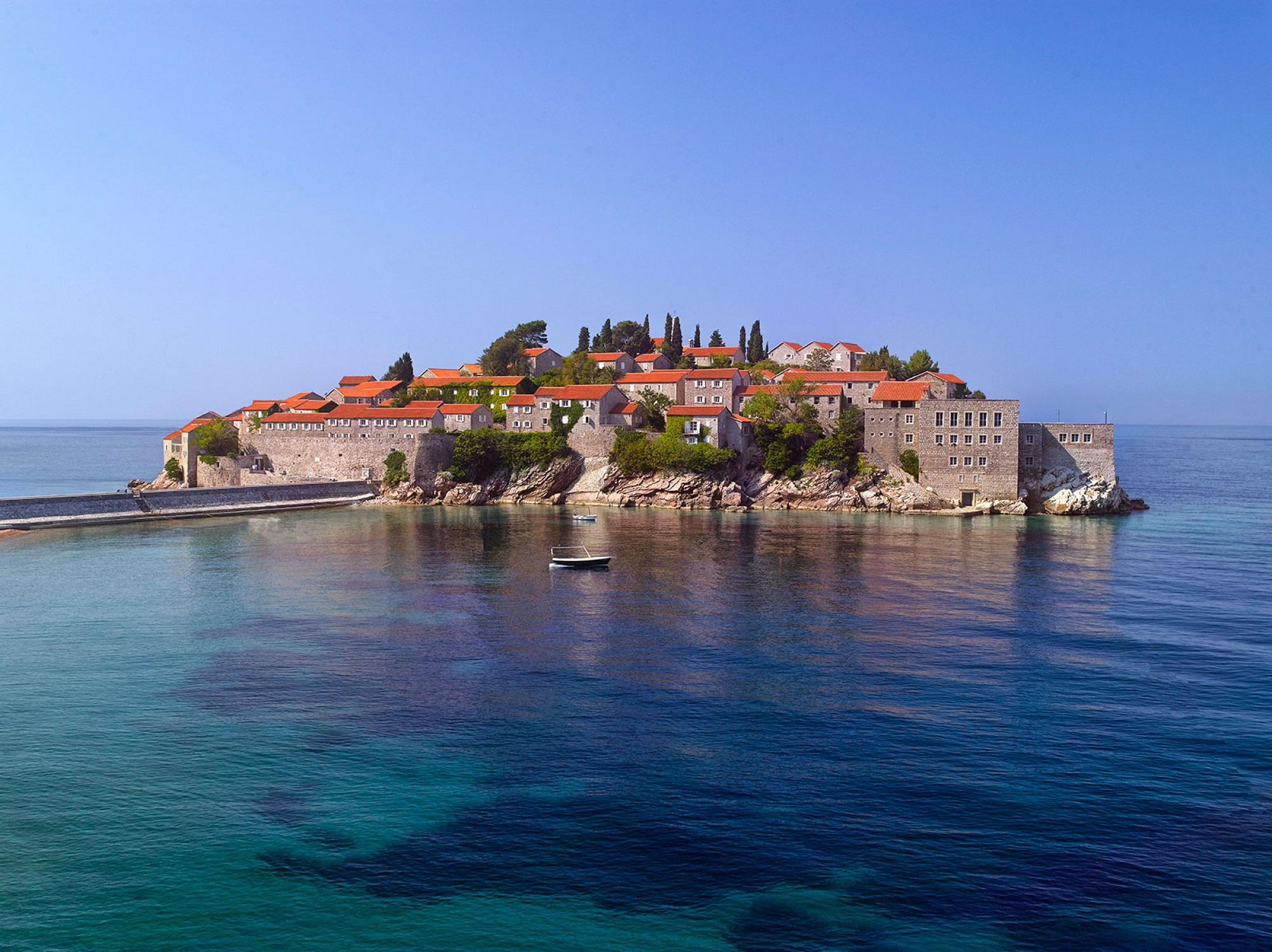 Private island resorts, Aman Sveti Stefan