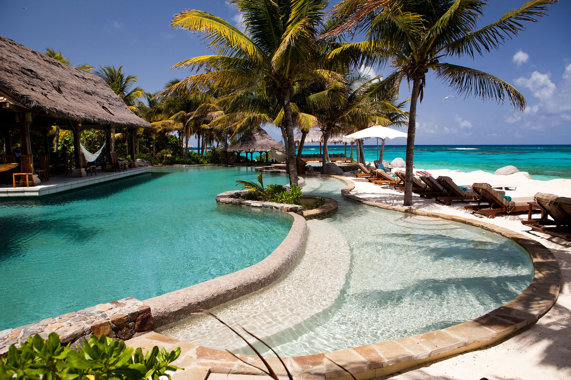 Private island resorts, necker island
