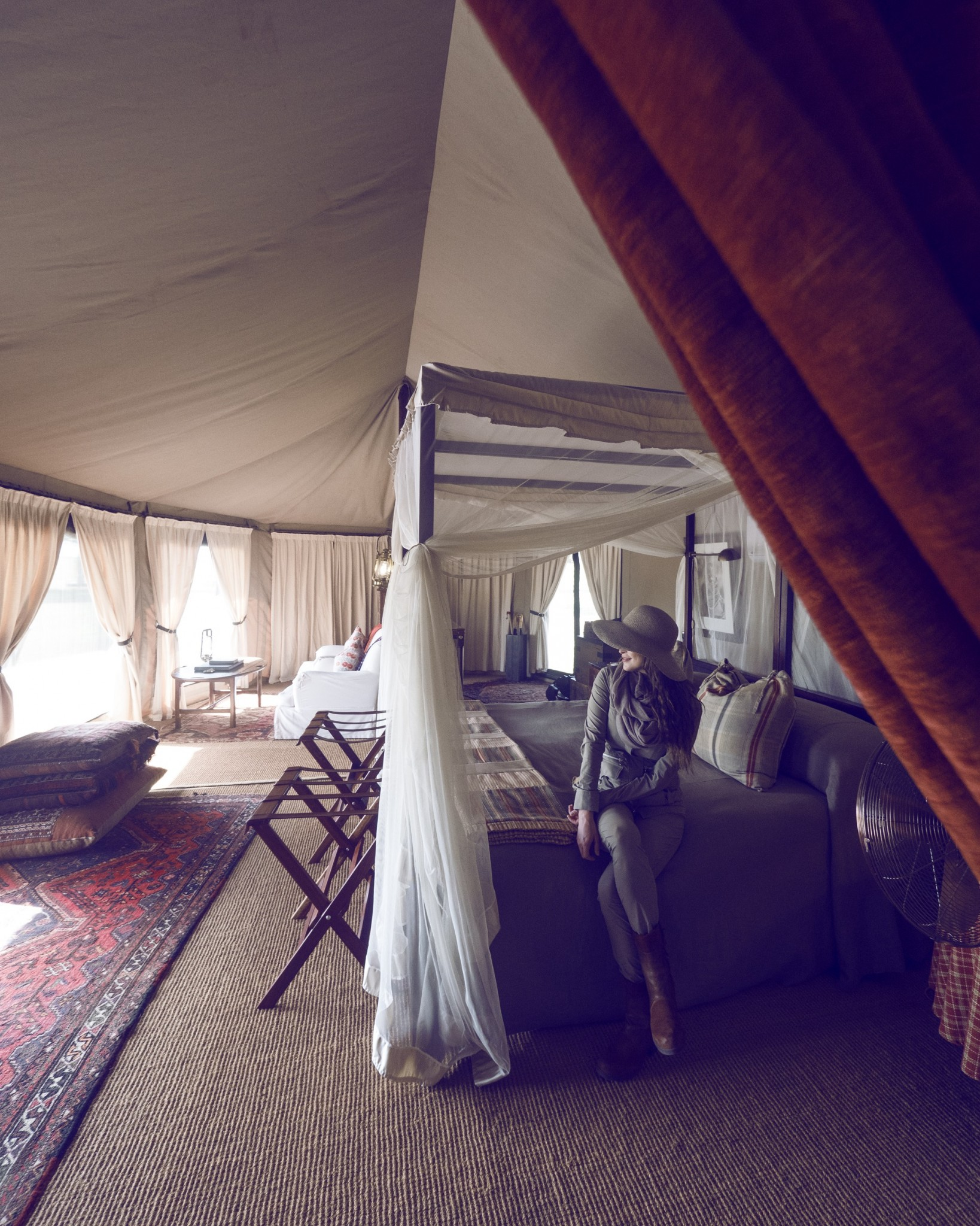 Glamping safari sabora tents