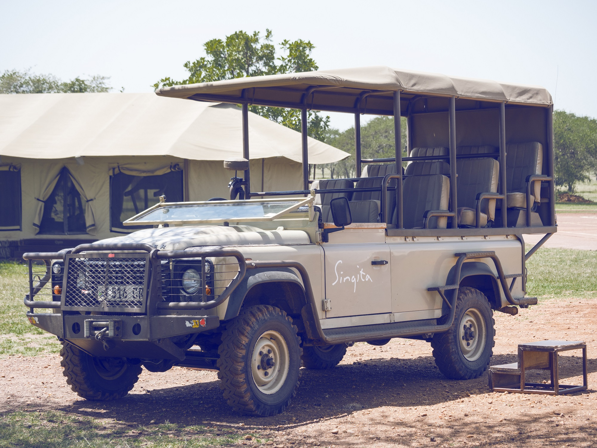 Singita Sabora game drives