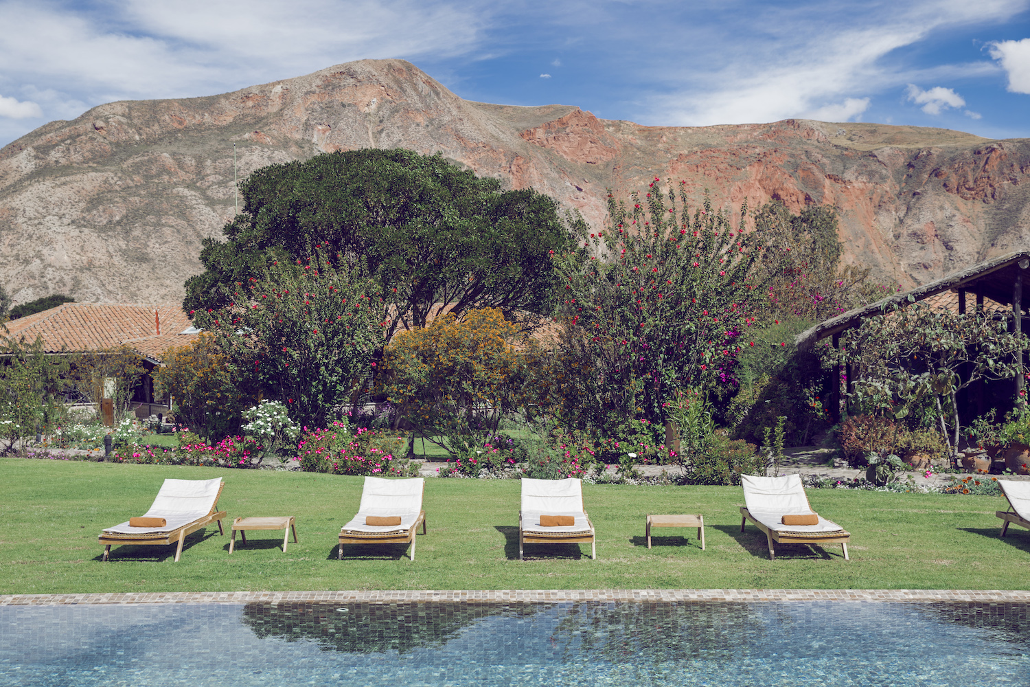 Luxury boutique hotel in Peru